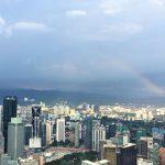 KLタワーのスカイデッキから虹の撮影に成功!雨上がりのクアラルンプール旅行に起こった奇跡!?